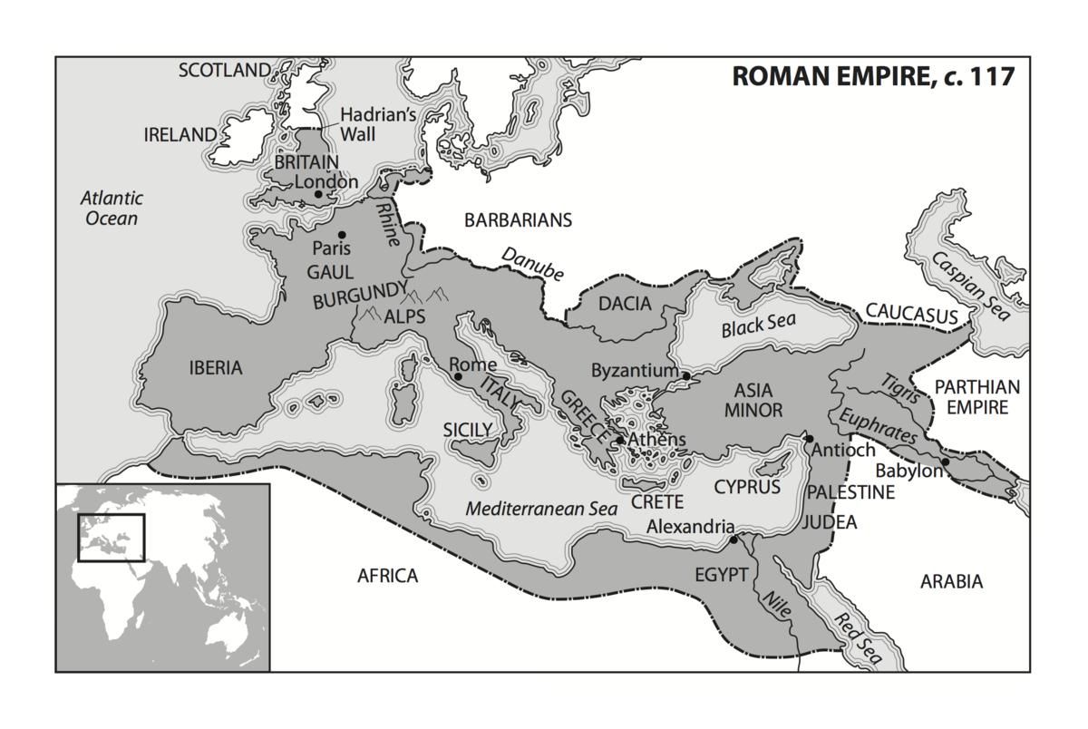 34 Ancient Rome Map Worksheet